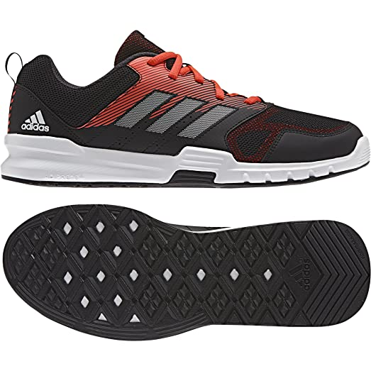 adidas training shoes essential ba8944 negr 42 2 3 black amazon