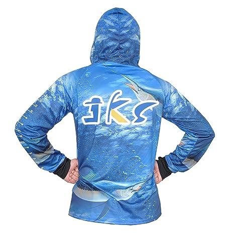05d24bcd Amazon.com: JEKOSEN Sunblock UPF 50 Dri Fit Quick-Dry Hoodie Long Sleeve &  Convertible Long Sleeve Fishing Shirts Ruler On Forearm Unisex T-Shirt:  Sports & ...