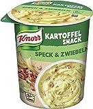 Knorr Kartoffel Snack Speck & Zwiebeln 1 Portion, 8er Pack