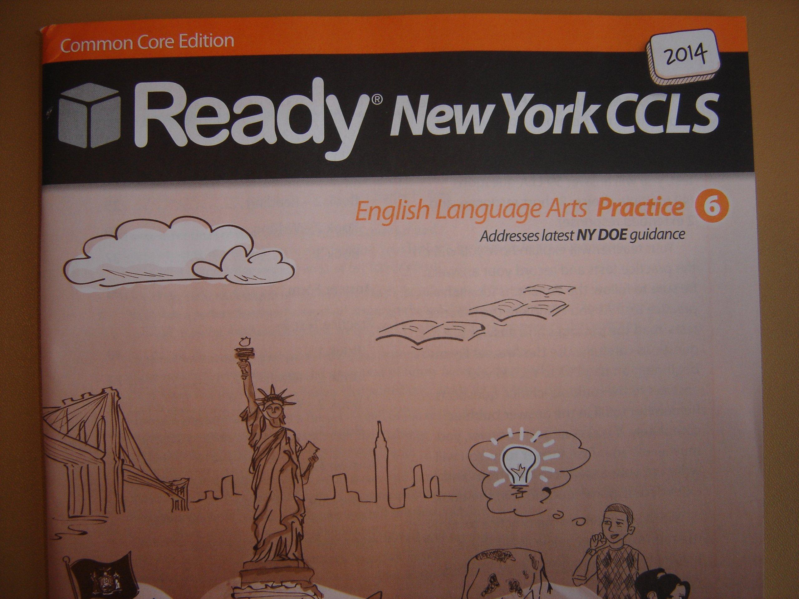 Amazon.com: 2014 Ready New York Common Core ELA Practice grade 6 ...