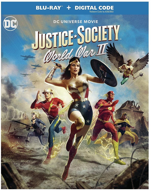 Justice Society: World War II [USA] [Blu-ray]: Amazon.es ...