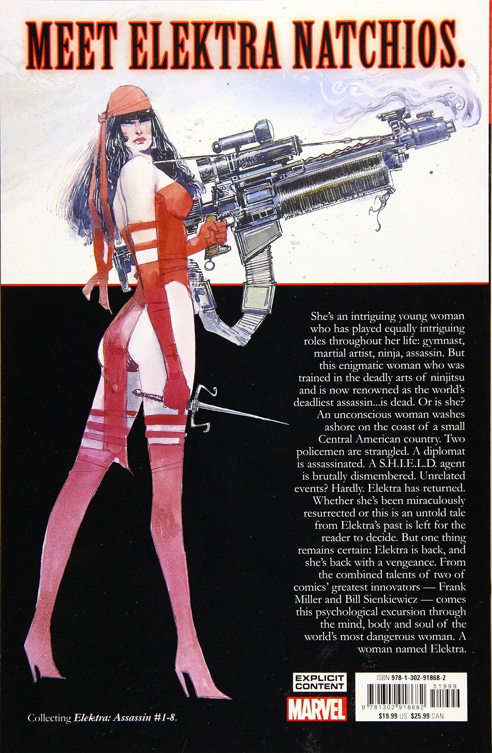 Elektra: Assassin: Amazon.es: Frank Miller, Bill Sienkiewicz ...