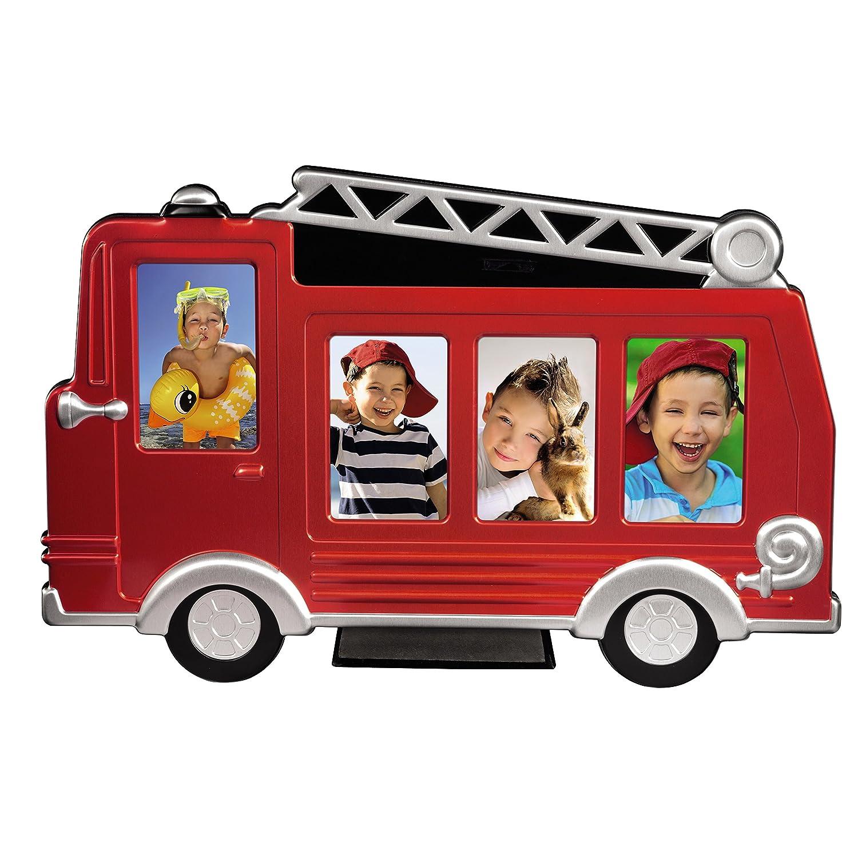 "Amazon Hama Porträtrahmen ""Feuerwehrauto Grisu"" Rot 4x 5x8 cm"