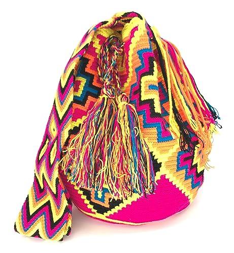 Wayuu Mochila, Bolsos Colombianos Artesanales con motivos tribales (CARTAGENA)