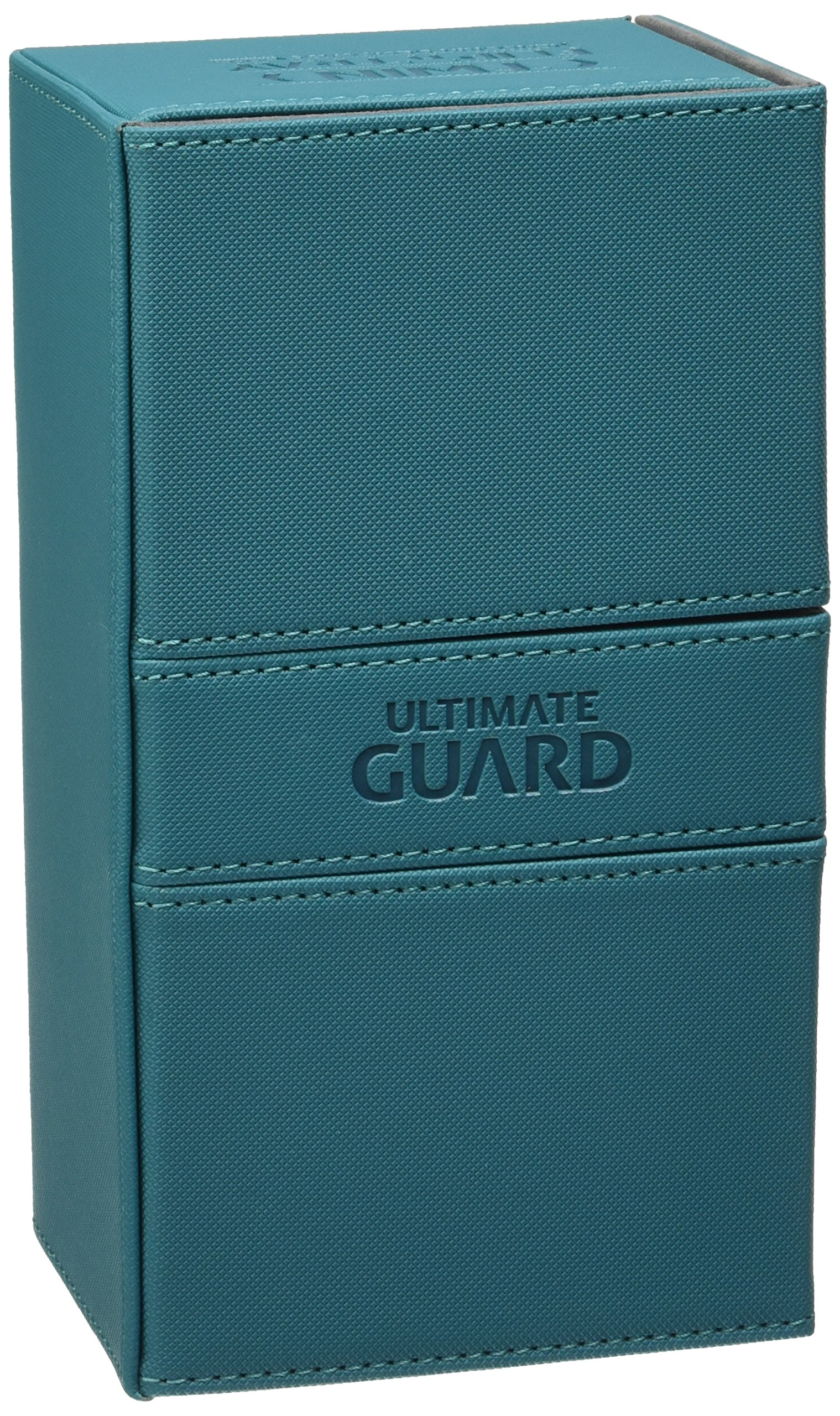 Ultimate Guard Deck Box Twin Flip N Tray Xenoskin 200 Case, Petrol by Ultimate Guard