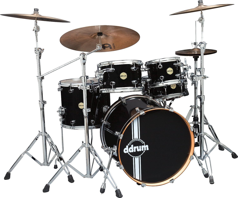Ddrums PMP 522 PBLK Paladin Maple Player - Batería acústica (5 unidades): Amazon.es: Instrumentos musicales