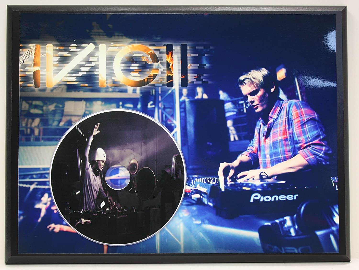 Avicii Limited Edition Picture Disc CD Rare Collectible Music Display Gold Record Outlet