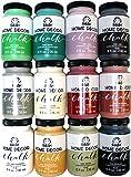 FolkArt Home Decor Chalk Paint Set (8 Ounce), PROMO845 (12-Pack)