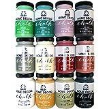 FolkArt Home Decor Chalk Finish Paint Set (8 Ounce), (12-Pack)