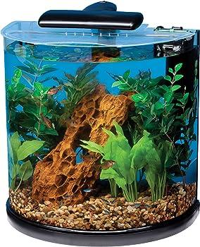 Tetra Half Moon 10-Gallon Fish Tank