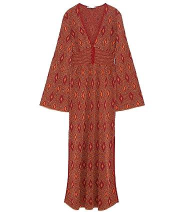 Zara Women Shiny Jacquard Dress 6771/007 (Small)