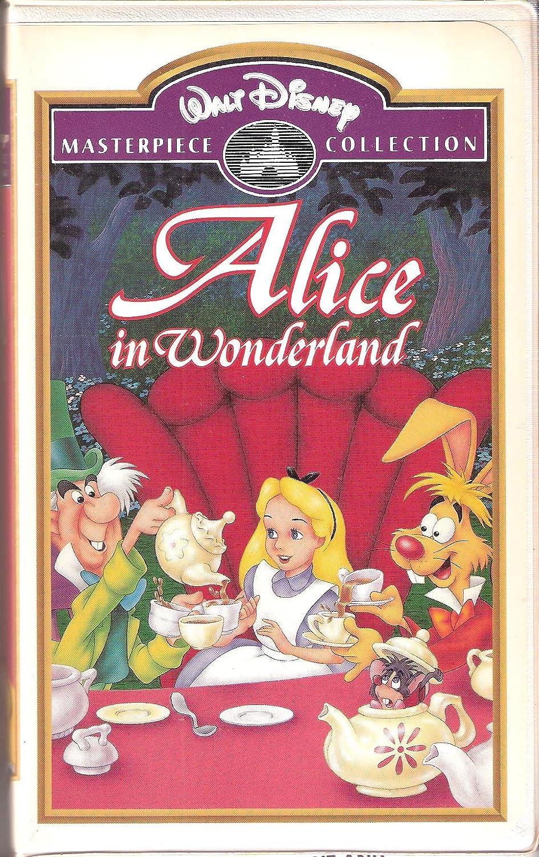 Alice in Wonderland [VHS]: Amazon.de: DVD & Blu-ray