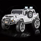 SPORTrax Awesome 4WD Kid's Ride On Vehicle, Battery Powered, Remote Control, w/FREE MP3 Player - White
