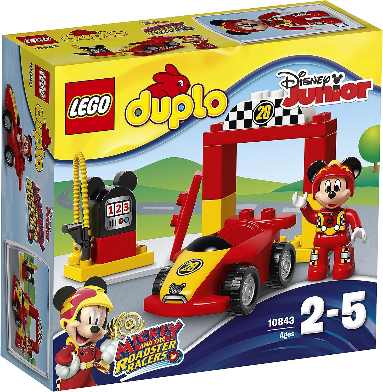 LEGO DUPLO Disney - Deportivo de Mickey, Juguete Creativo de Construcción de Coche de Carreras (10843) , color/modelo surtido