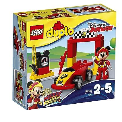 LEGO Bau- & Konstruktionsspielzeug Lego Duplo 2 Rennwagen mit Figuren