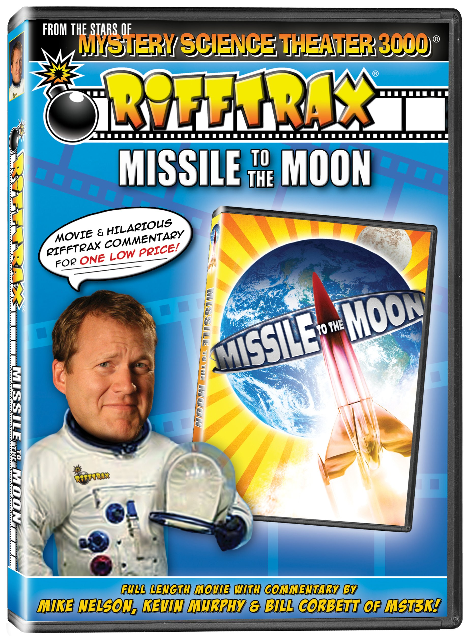DVD : Rifftrax: Missile To The Moon (Full Frame, Dolby)