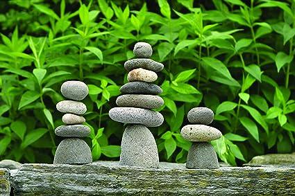 Amazon.com: Happy jardines piedra Cairn, 7: Jardín y Exteriores