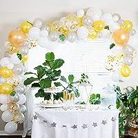 Parti Supplies Balloon Garland Kit: 138 Balloons and Garland Arch Set for Party Supplies and Decor