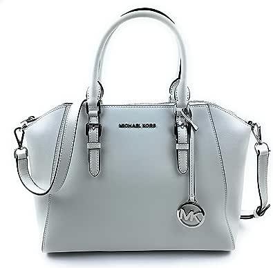 Michael Kors Ciara - Bolso de piel Saffiano con cremallera superior para mujer