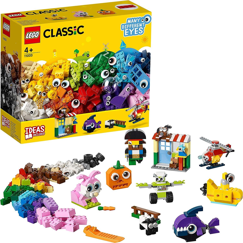 LEGO Classic - Ladrillos y Ojos, juguete didáctico y divertido ...