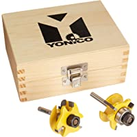 Yonico 12238q Rail and Stile Router Bits