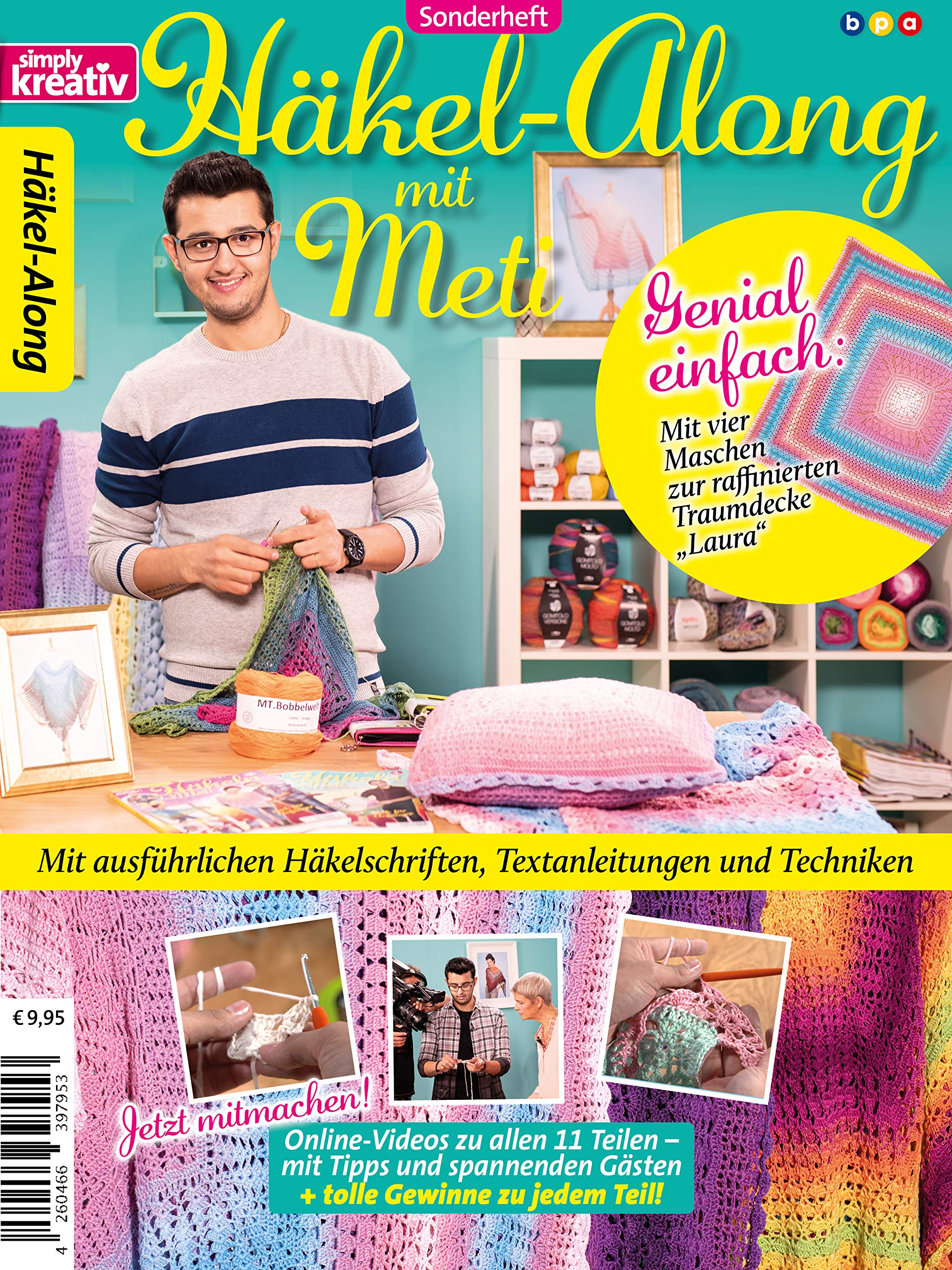 1    2019 20 Tücher/&Accessoires simply kreativ Sonderheft Häkeln mit Meti  Vol
