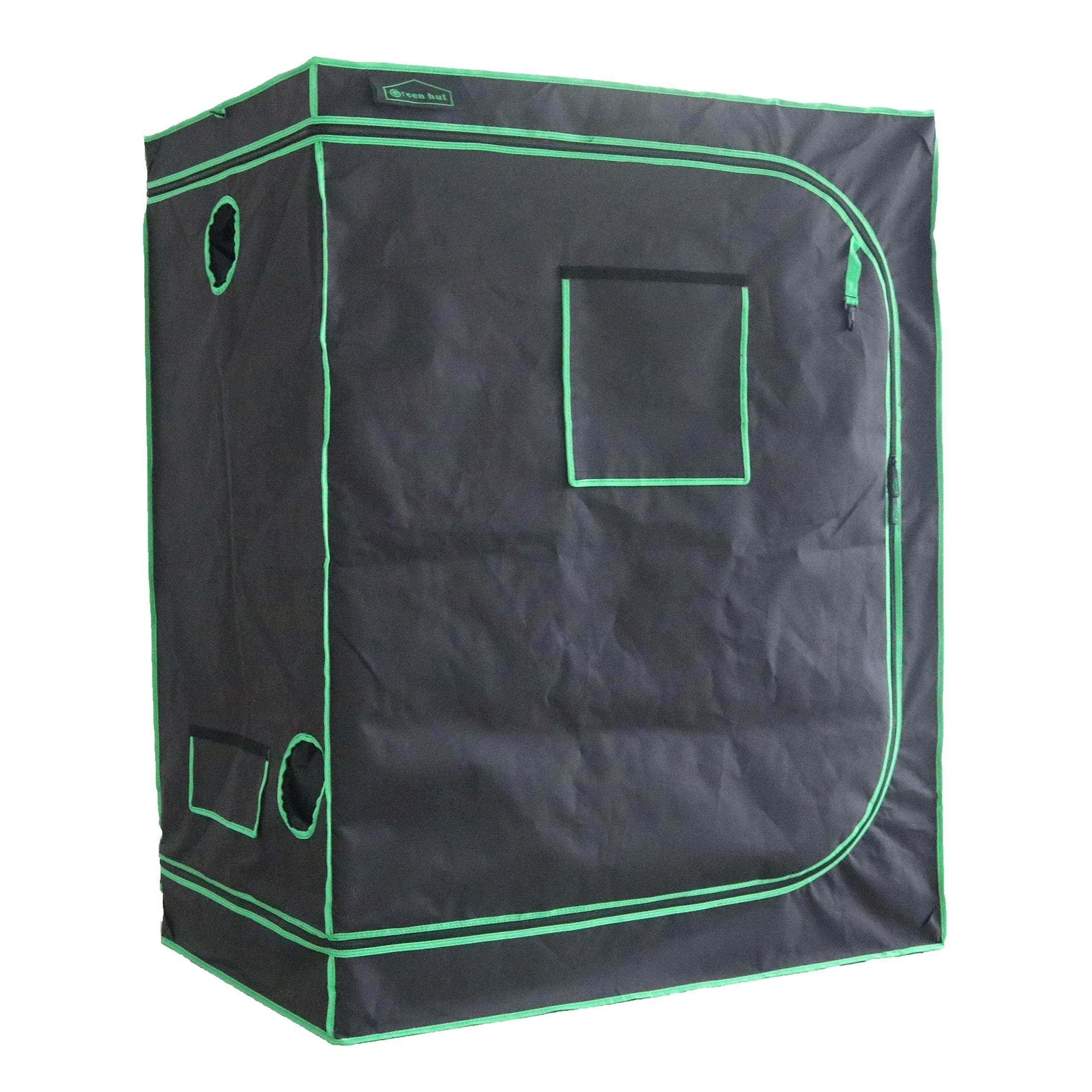 Green Hut 48''X32''X60'' 600D Mylar Hydroponic Indoor Grow Tent