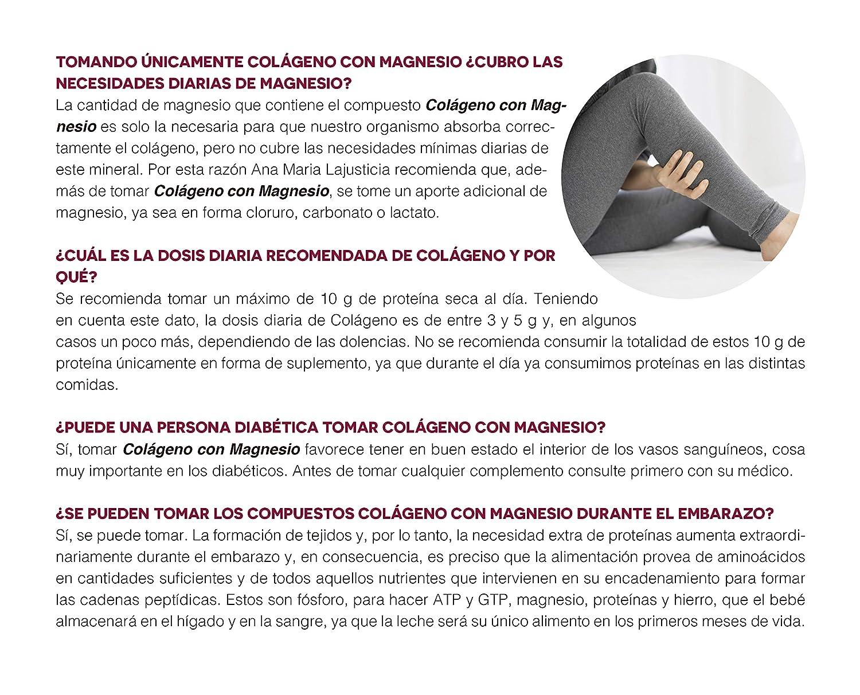 Ana Maria Lajusticia - Colágeno con magnesio - 450 comprimidos ...