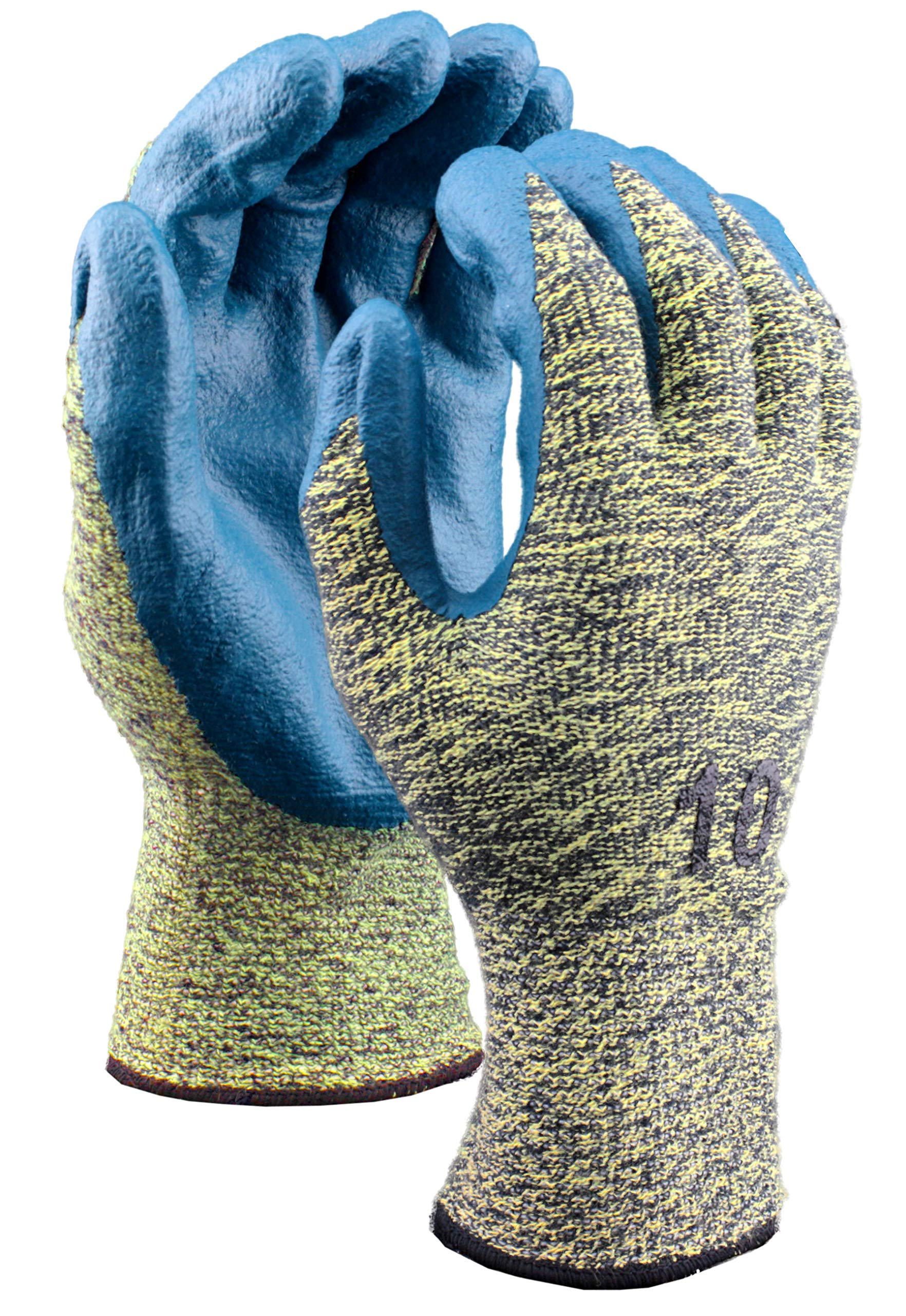 Stauffer Cut Resistant Glove with Nitrile Foam Coating, Cut Level A4, Extra Small, (Pack of 12) by Stauffer Glove & Safety (Image #1)