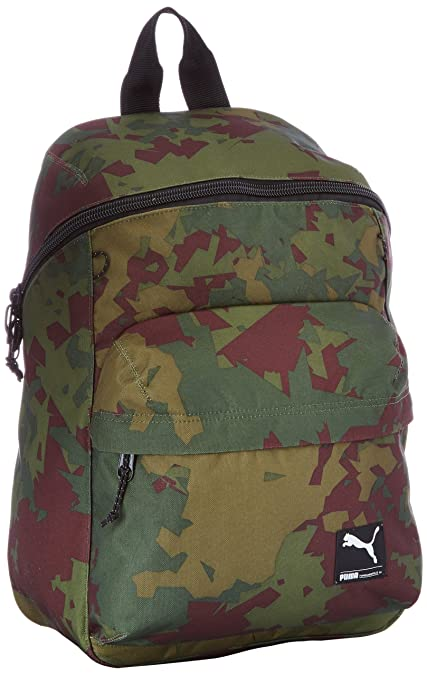 Puma Rucksack Foundation Backpack - Mochila, color verde, 28.5 x 45 x 18 cm: Amazon.es: Zapatos y complementos