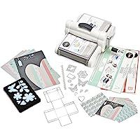 Sizzix Big Shot Plus Starter Kit, Acciaio Inossidabile, Bianco/Grigio, 40cm x 29.8cm x 19cm