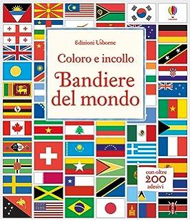 Maxi Tabella Con Bandiere Del Mondo E Nomi Dei Paesi Poster Da