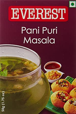 Everest Masala, Pani Puri, 50g Carton