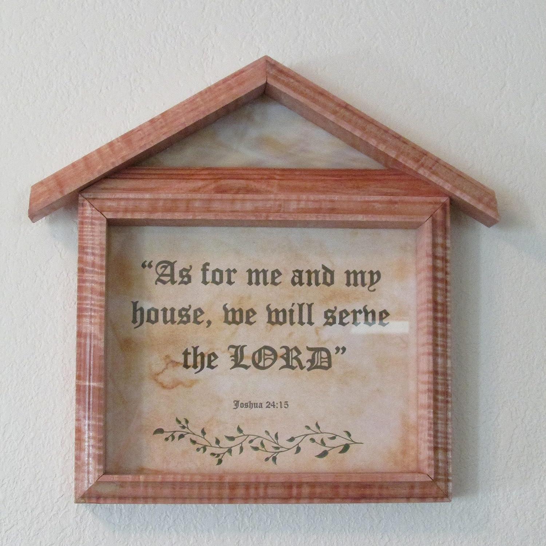 d84640e626b4 Amazon.com: Custom Wood Frame with Bible Verse: Handmade