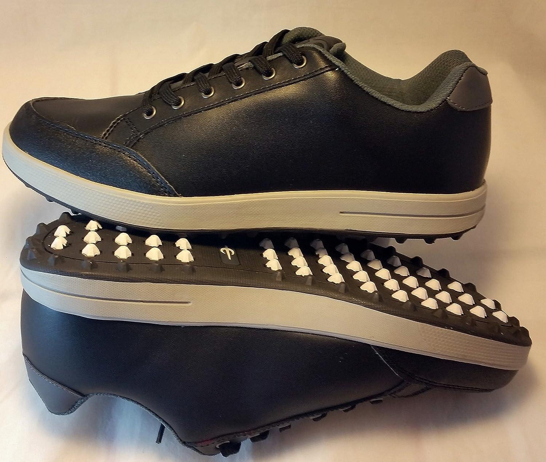 Q-Link Performance ゴルフシューズ メンズ 039;s ストリート ブラック サイズ9   B015ABMJ84