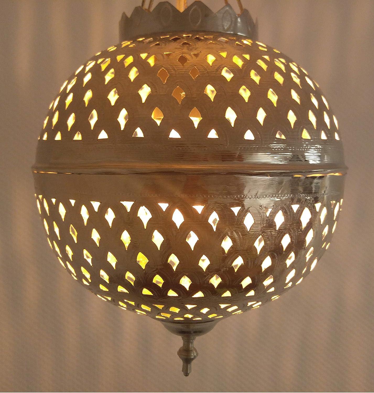 Marrakesch Colgante lámpara de latón Oro S, marroquí Techo ...