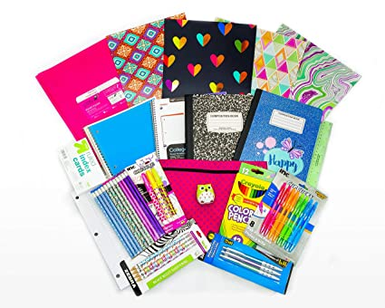 Amazon Com Cute And Stylish School Supplies For Girls