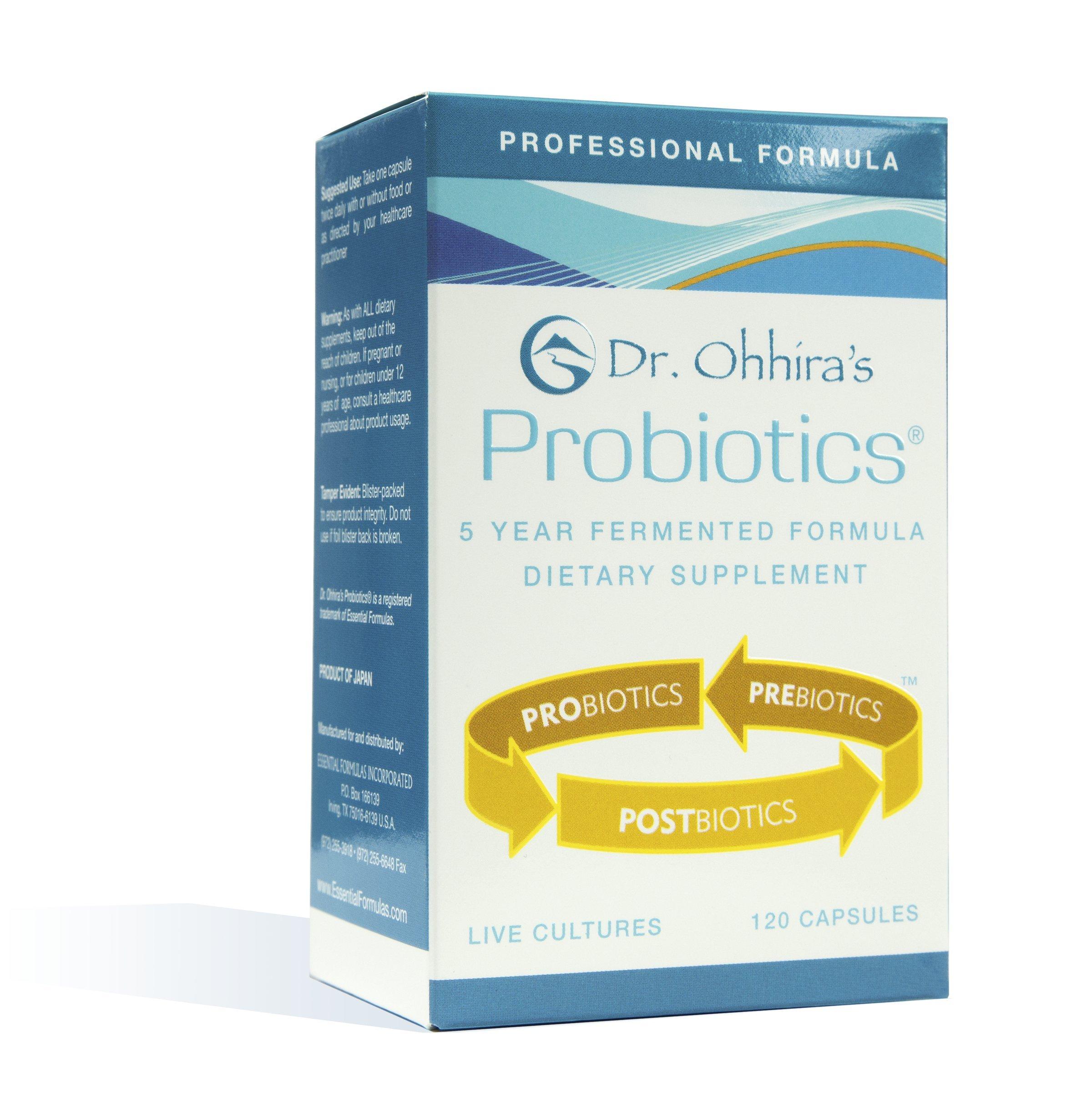 Dr. Ohhira's Probiotics Professional Formula 120 Capsules 72g