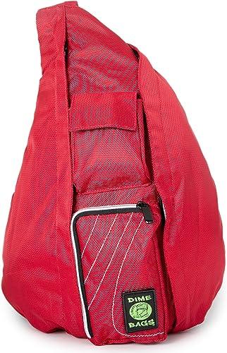 Dime Bags Slinger Bag Crossbody Bag Premium Over the Shoulder Sling Bag Cross Body Strap Back Pack Crimson