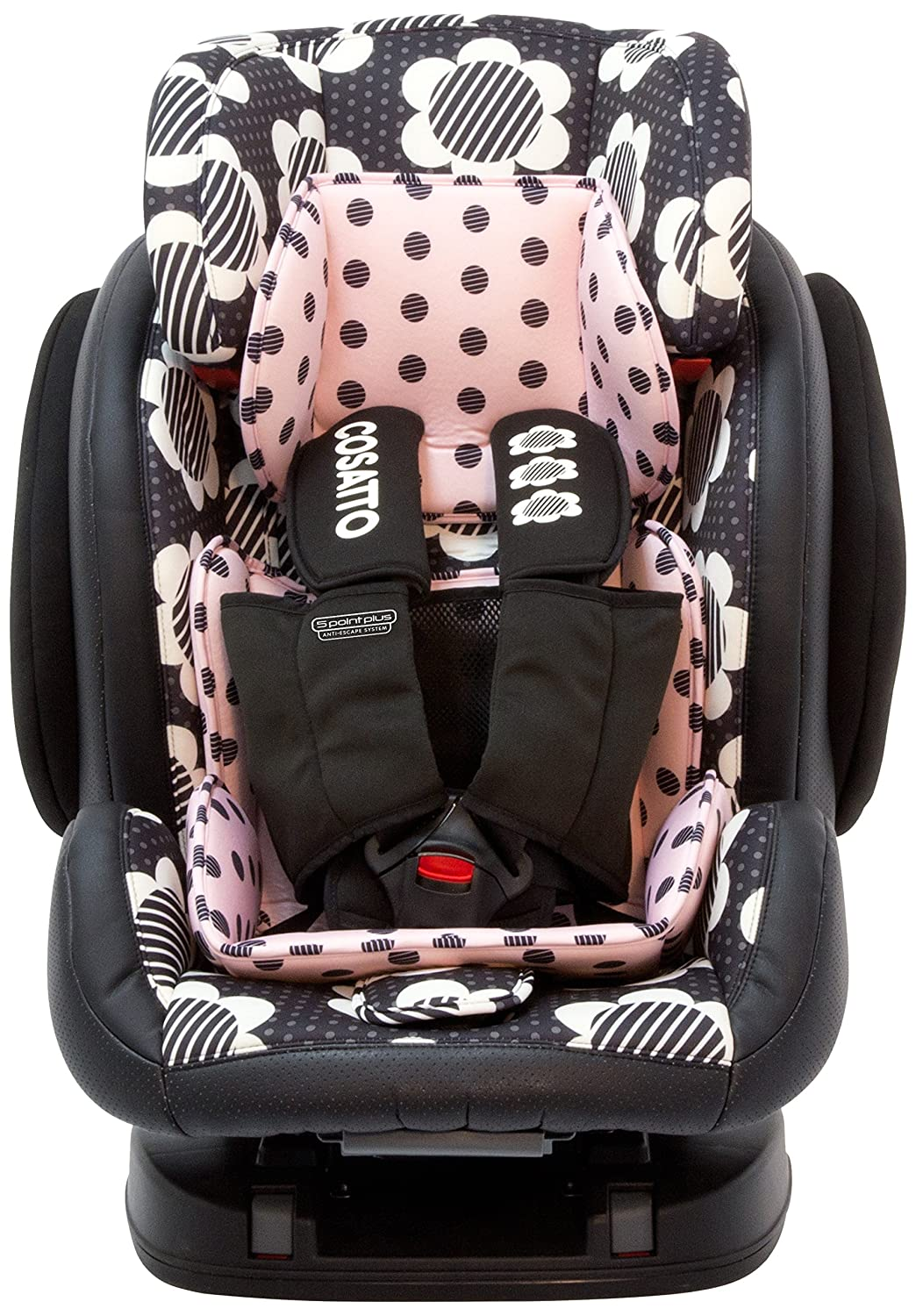 Cosatto Hug GRP 123 Isofix Anti Escape Auto Sitz (Daisy Dot)