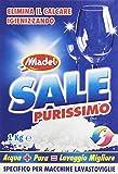 Sel purissimo–Sel granuleuse, élimine le calcaire igienizzando, spécifique pour machines Lave-vaisselle–1000g