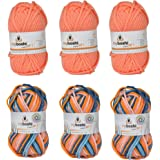 Noris Spiele 606311709 Original Myboshi Wolle Set Multicolor Mix No. 1
