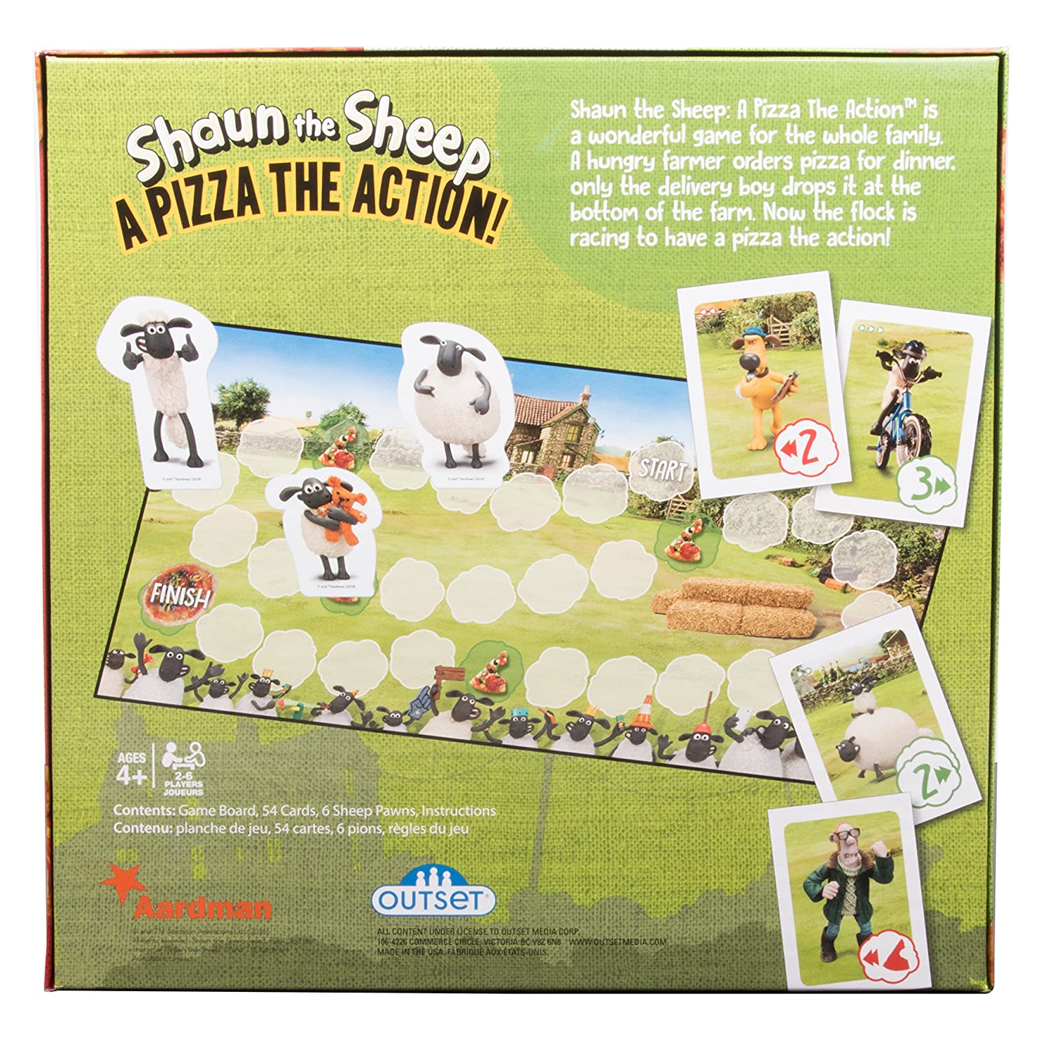 Amazon Outset Media Shaun The Sheep A Pizza The Action Board