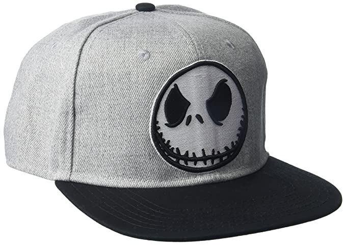 d2cb0e592f73e Amazon.com  Nightmare Before Christmas Men s Jack Skellington Baseball Cap