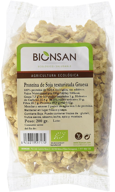 Bionsan Proteína de Soja Texturizada Gruesa - 6 Paquetes de 200 gr - Total: 1200 gr: Amazon.es: Alimentación y bebidas