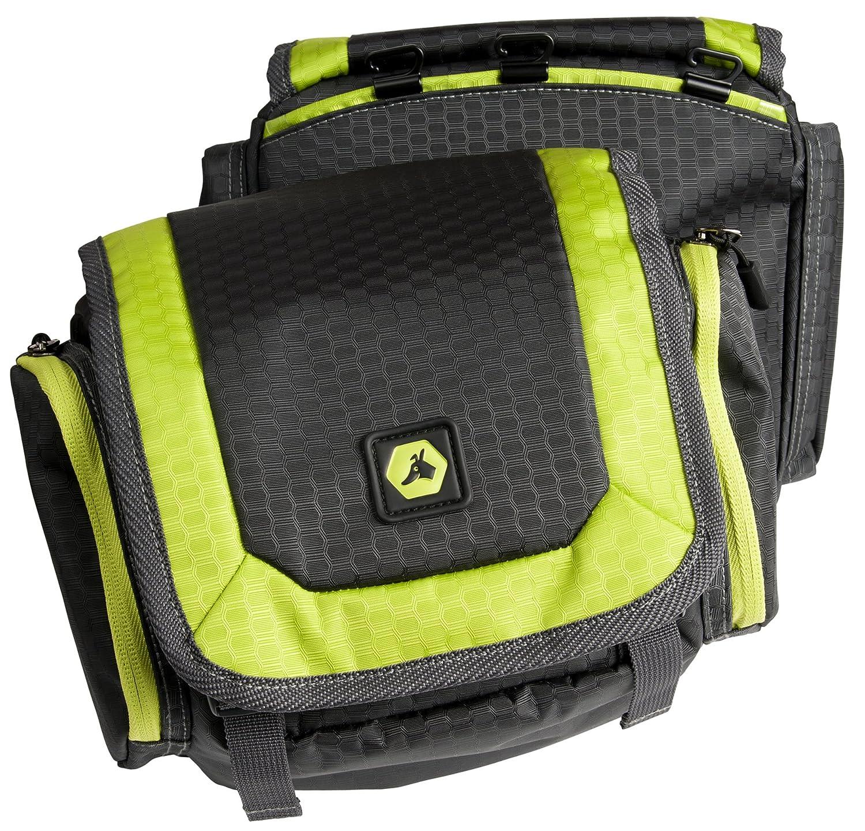 EQDOG 150-436 Alforja Flex Pack Gris y Verde M