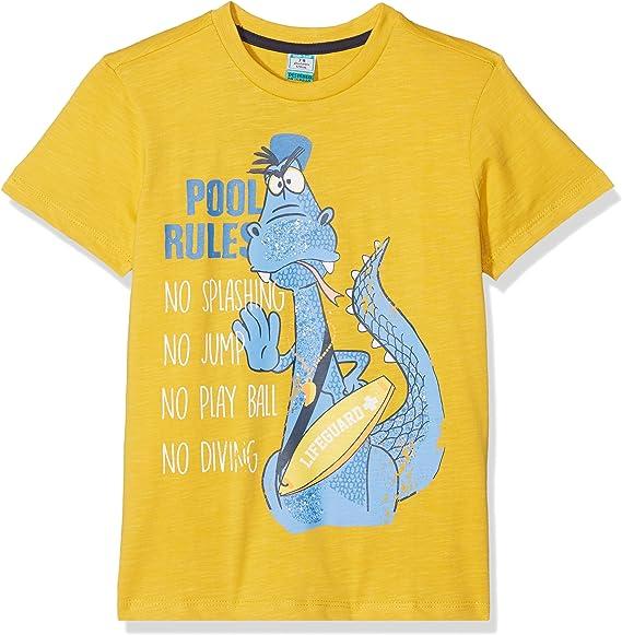 TOP TOP, Camiseta amarilla para niños: Amazon.es: Ropa y accesorios