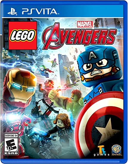 Amazon.com: Lego Marvel's Avengers - PS Vita [Digital Code]: Video Games