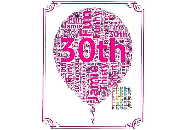 Amazon 30th Birthday Gifts Gift 30