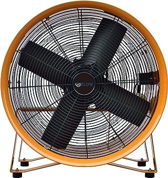 Cyclone - Extractor de humos y ventilador de ventilación (450 mm ...